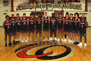 Photo of the 2018-19 Trojans Varsity Basketball Team