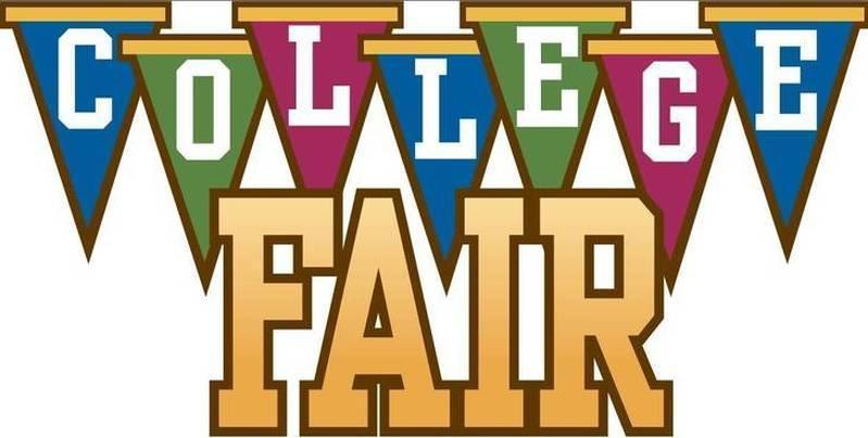 MultiColor College Fair sign
