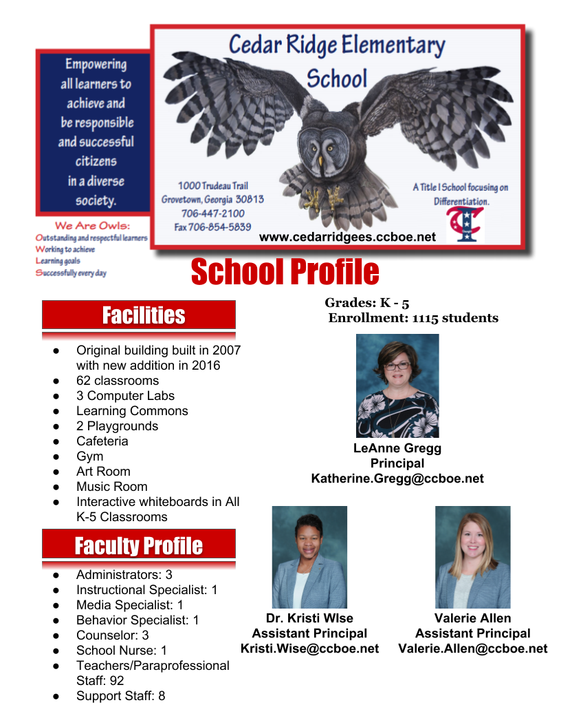 CRE School Profile