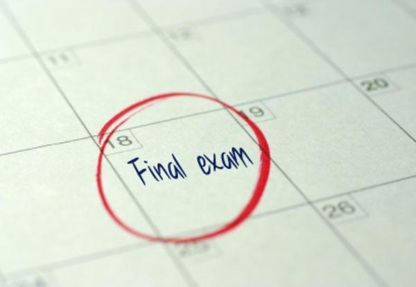 Final Exams - Minimum Days (1:15 Release) Featured Photo
