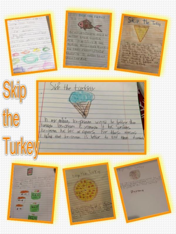 Skip the turkey paragraph collage