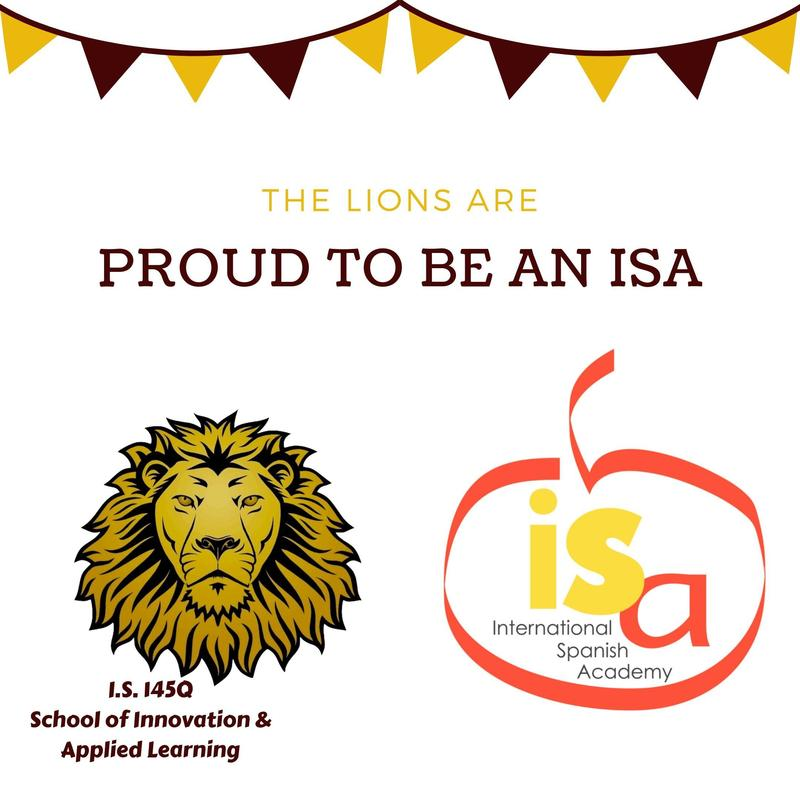 The Lions are Proud to be an ISA (International Spanish Academy)!!! Featured Photo