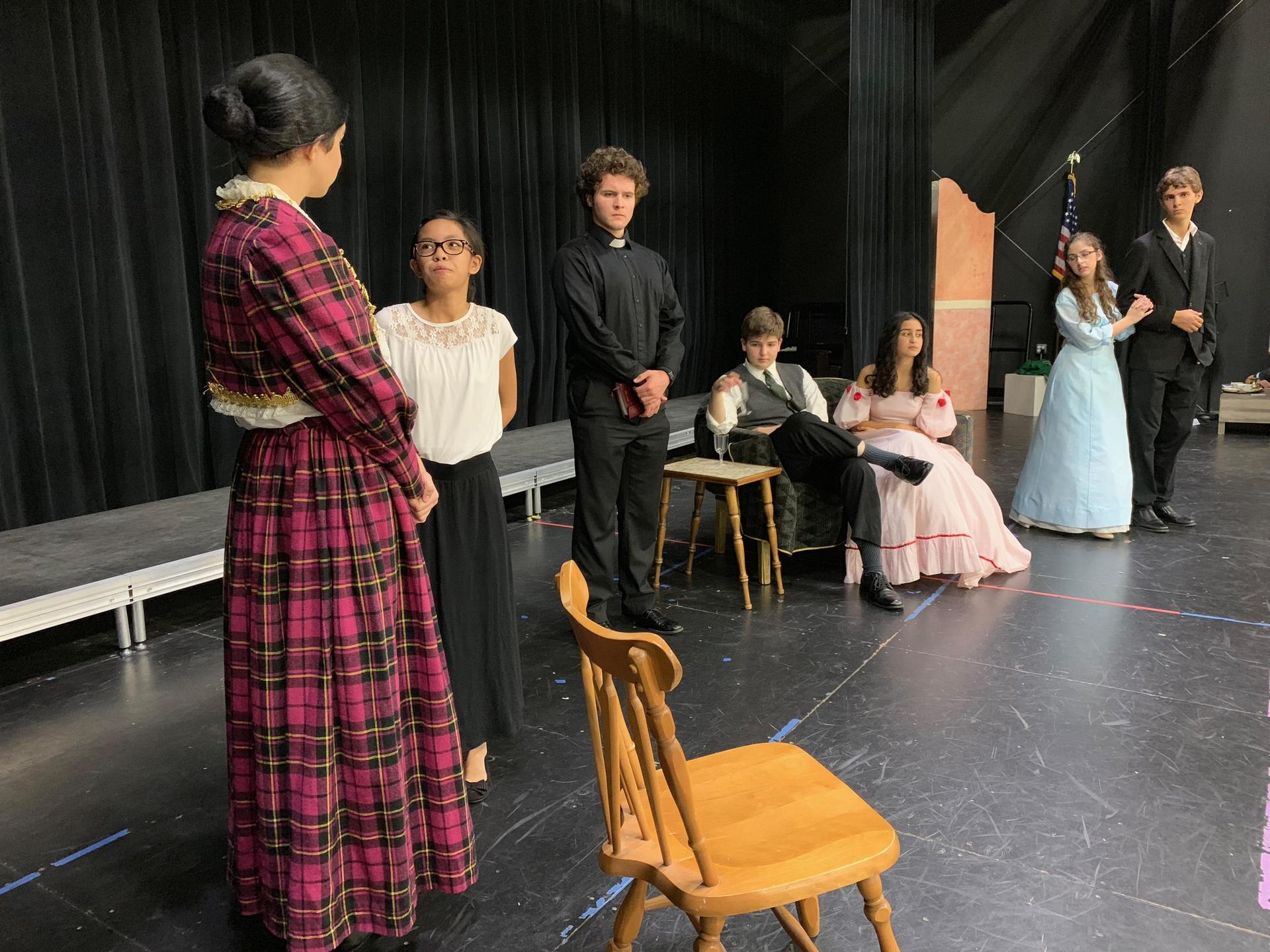 theater; actors