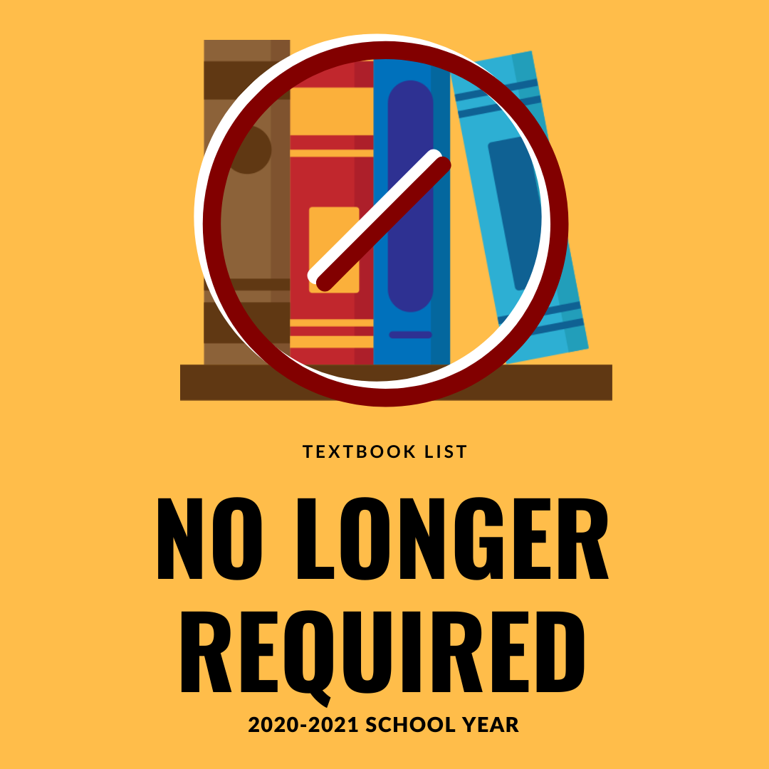 Textbooks No Longer Required