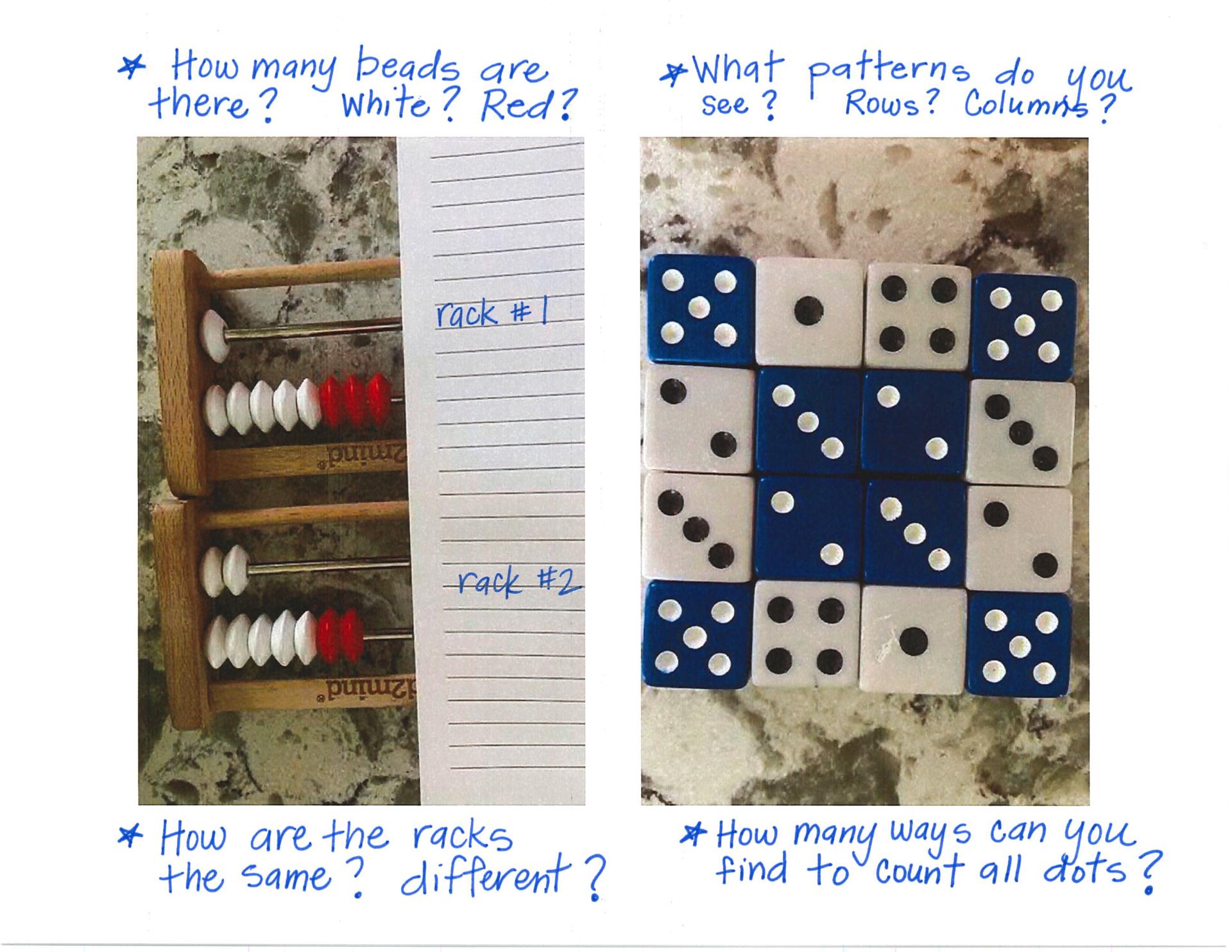 Math talk 1