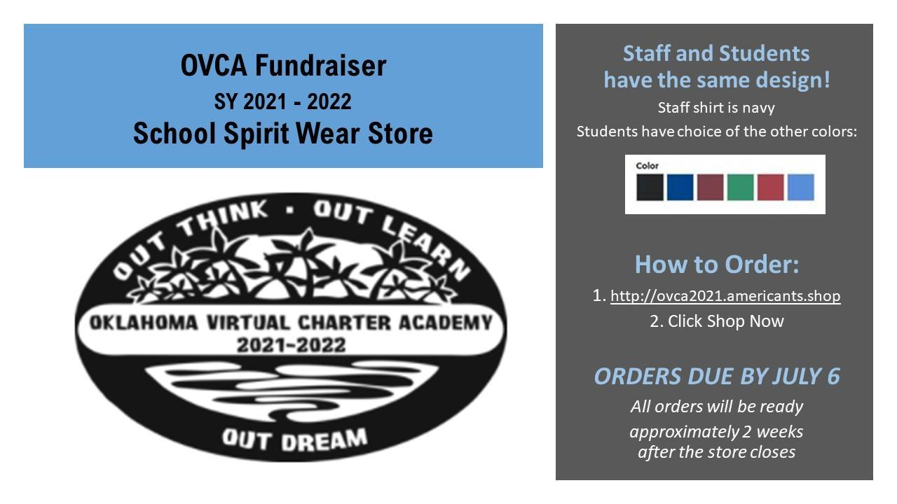 Picture - OVCA Spirit Wear for School Year 2021-2022