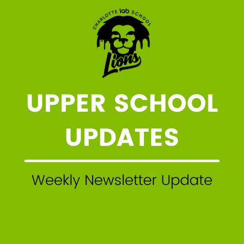 Upper School Updates - Week of 5/17 Featured Photo