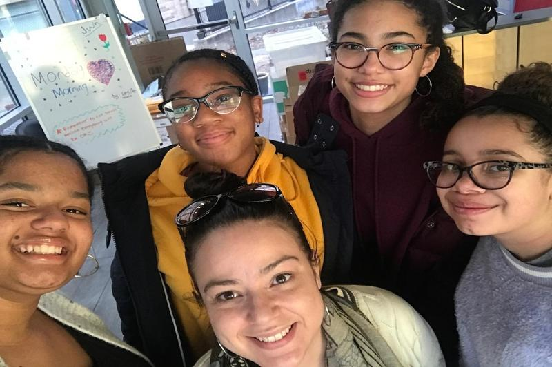 Community Prep students attend Middle School Students of Color Conference