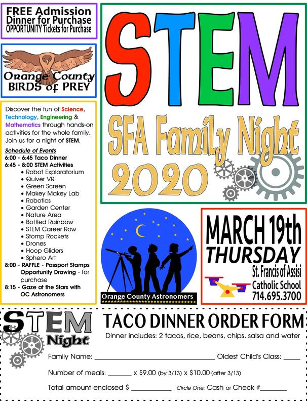 SFA STEM Night! Featured Photo