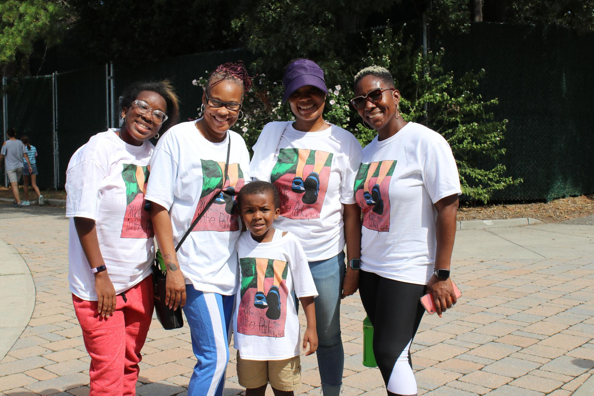 Family pic at DDI Walk 2019