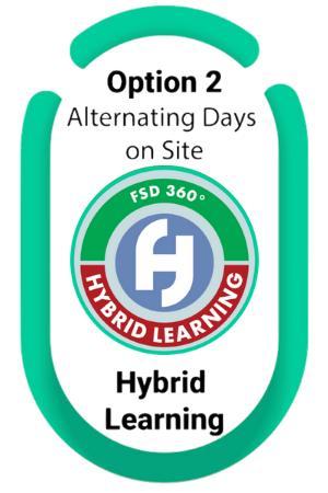 Hybrid Learning Button