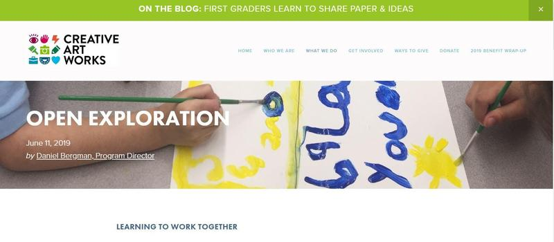 snapshot of CAW's blog entry on PS 192