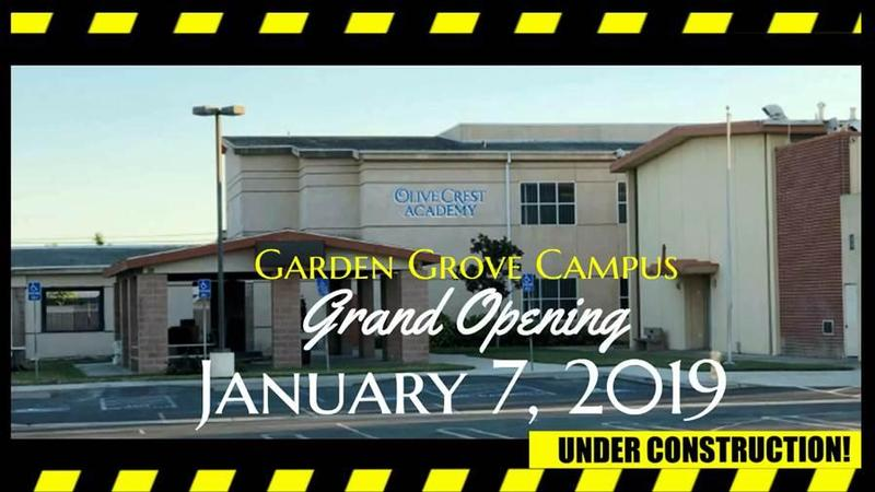 Campus Expansion: OCA Garden Grove Campus! Thumbnail Image