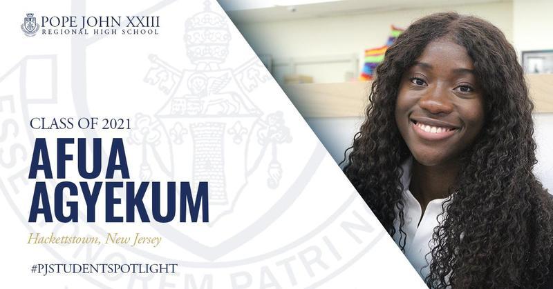 Afua Agyekum PJ Student Spotlight