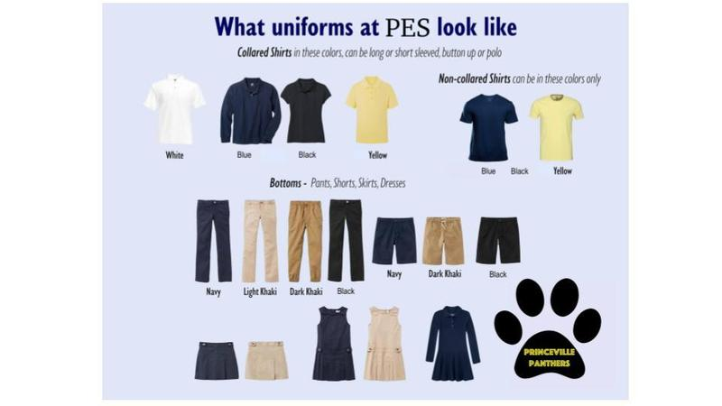 Princeville Uniforms and Supplies 2021-2022 Featured Photo