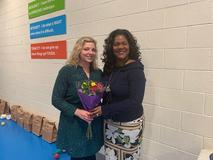 Congratulations Mrs. Bradley. Isle of Wight County Elementary Teacher of the Year.
