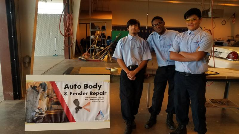 Auto Body Students Compete in SkillsUSA Thumbnail Image