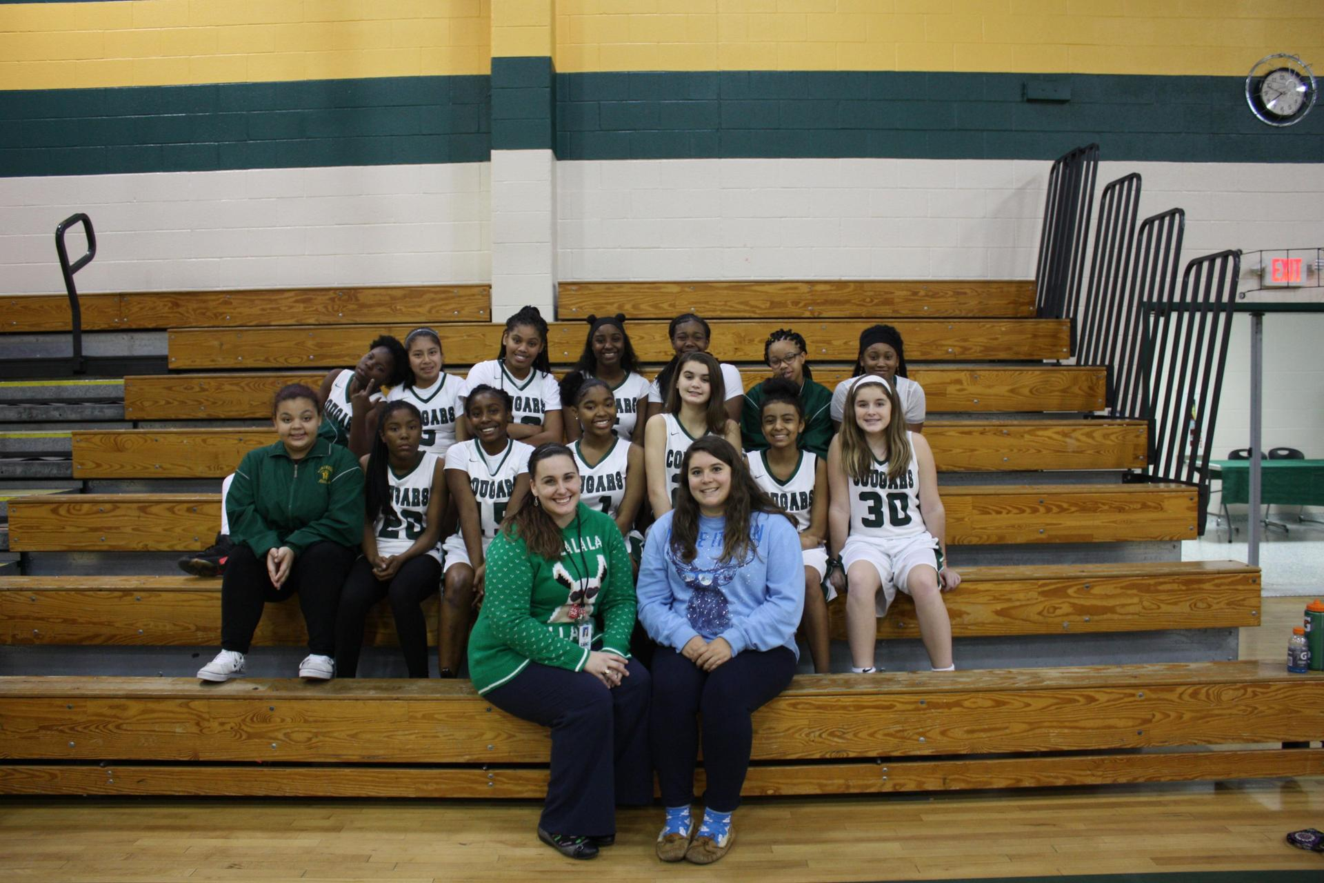 2018-2019 Girl's Basketball Team
