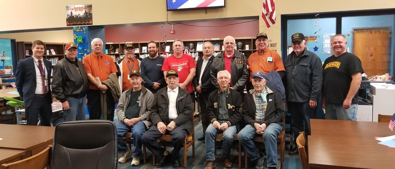 Bloomfield veterans group picture