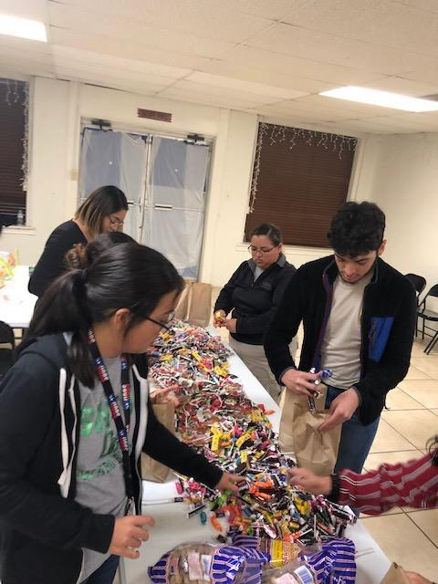 Criminal Justice Students Donate Candy Featured Photo