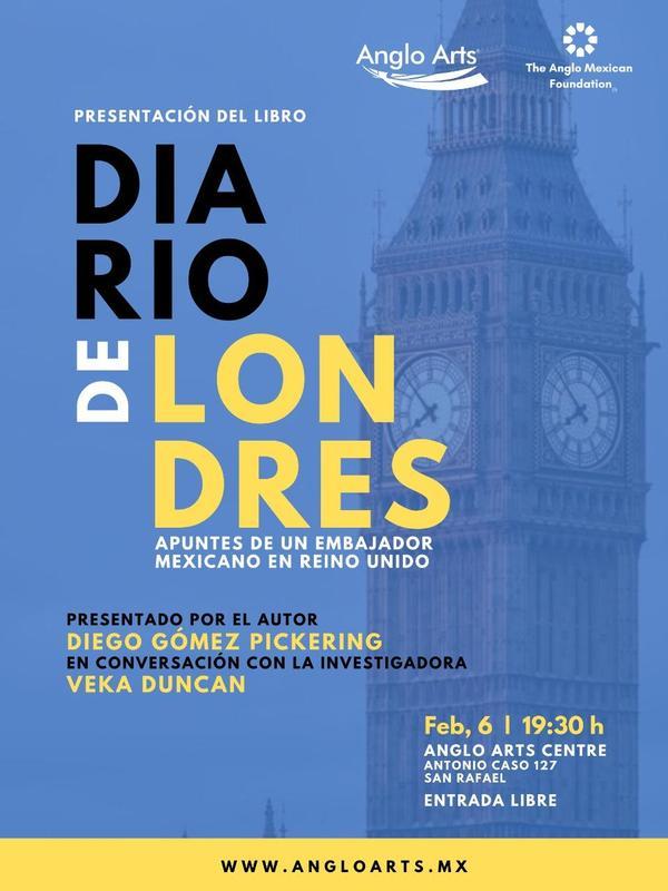Diario de Londres se presentará en el Anglo Arts Centre Featured Photo