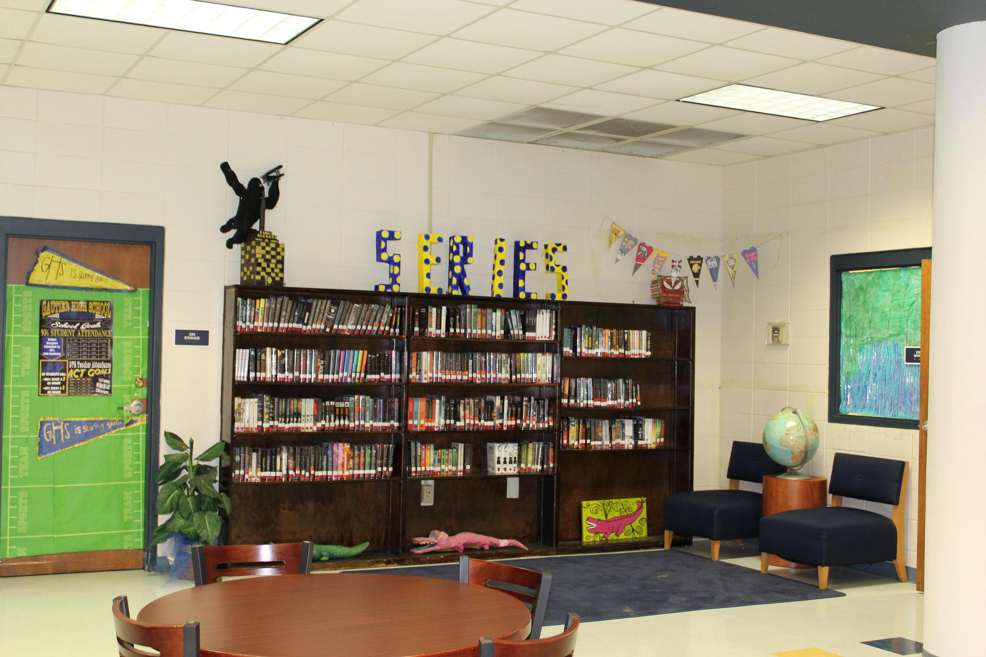GHS Book Display Series