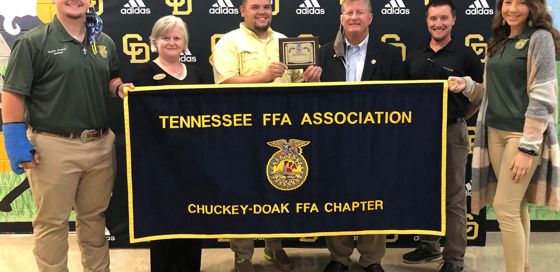 FFA Gives Senator Steve Southerland an Honorary Chapter FFA Degree