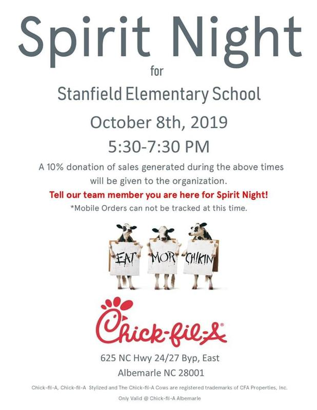 Support the School at Chik-fil-a! Featured Photo