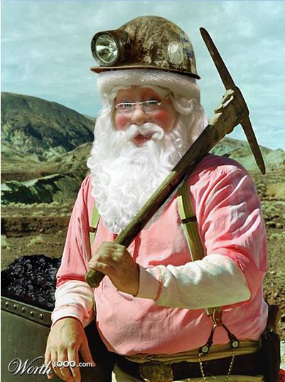 Santa Miner