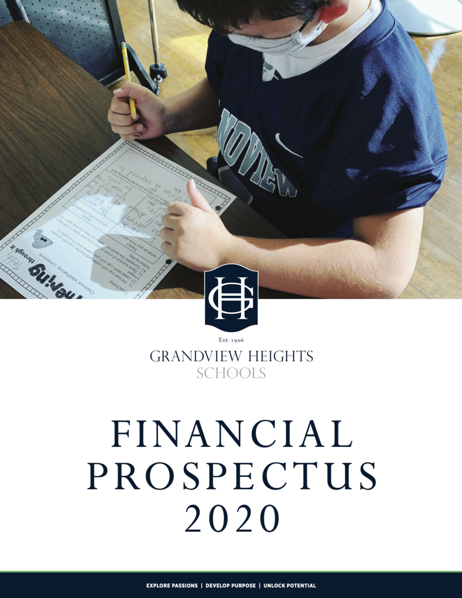 Financial Prospectus Cover 2020