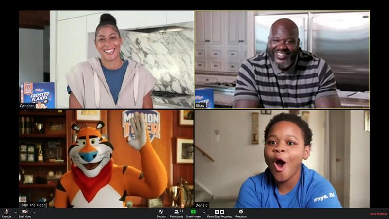 Shaquille O'Neal Crashes Philadelphia Young Scholars Charter School's Zoom Meeting With Donation To Keep Sports Program Afloat