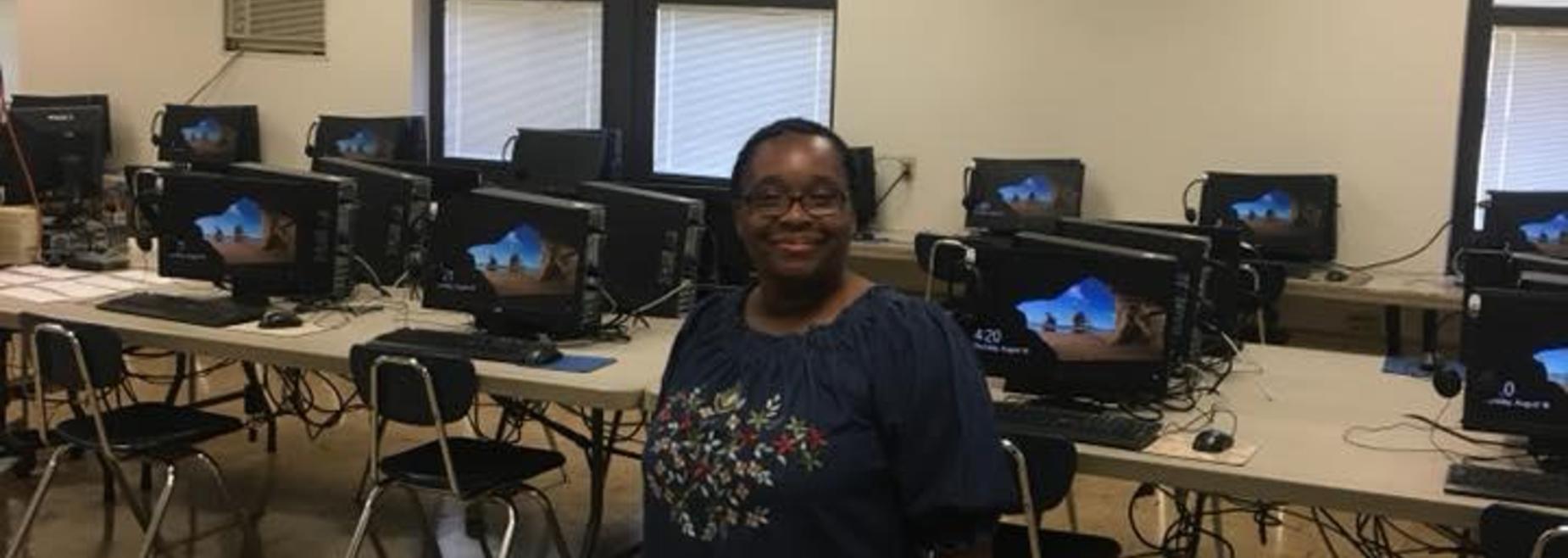 Mrs. Annette's computer lab