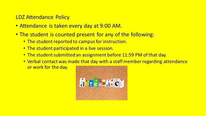 Attendance Procedures Featured Photo