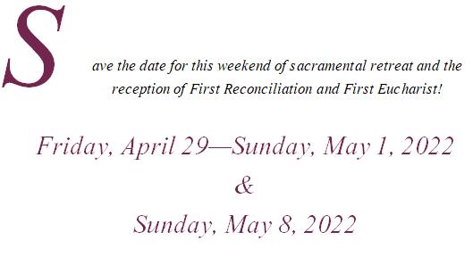 retreat sacrament