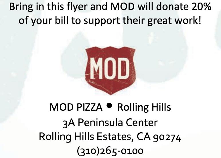 MOD Pizza Night December 11th Thumbnail Image