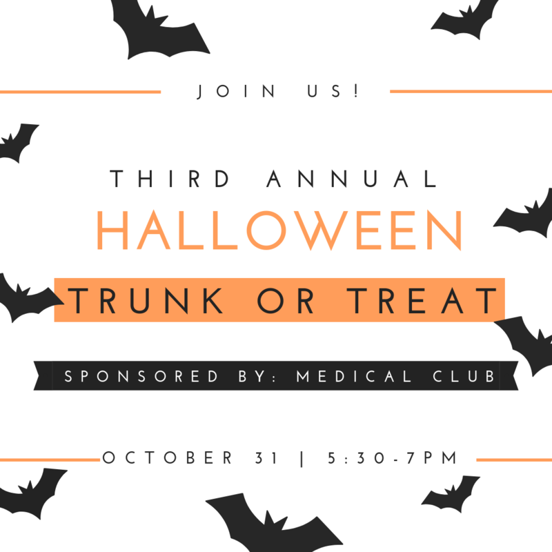 Health Science Club Hosts Trunk or Treat! Featured Photo