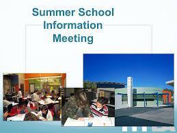 Summer School Information Meeting Thumbnail Image