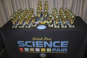 Sarah Ross Science Fair Trophies