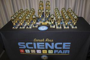 Sarah Ross Science Fair Trophies