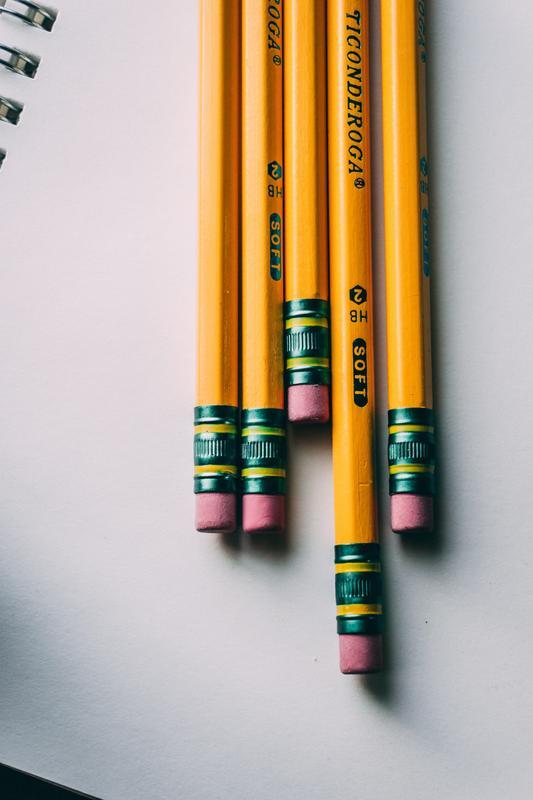Number 2 Pencils
