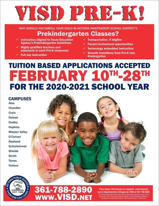 Pre - K Tuition Registration Thumbnail Image
