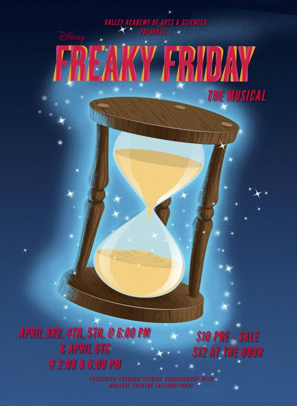 Freaky Friday the Musical Poster