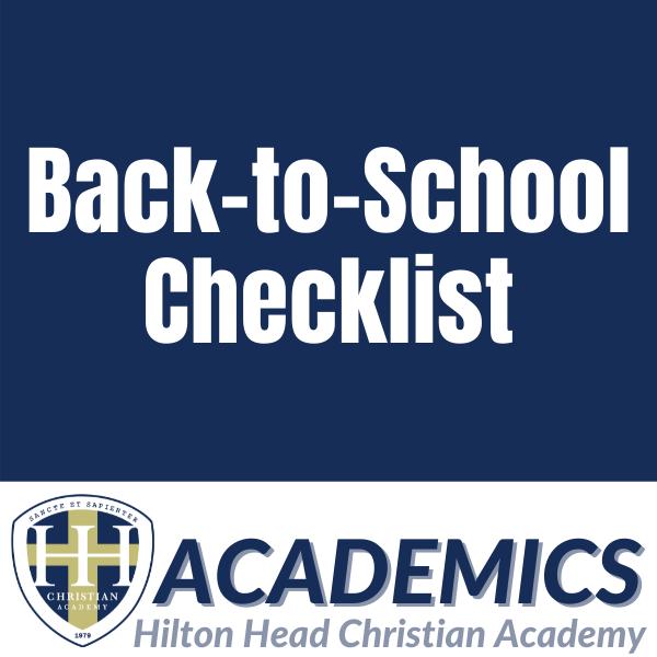 Back-to-School HHCA