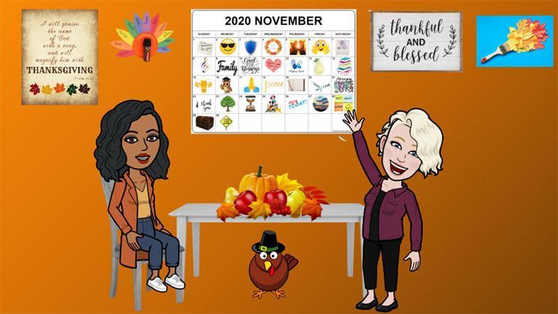 Thanksgiving Virtual room