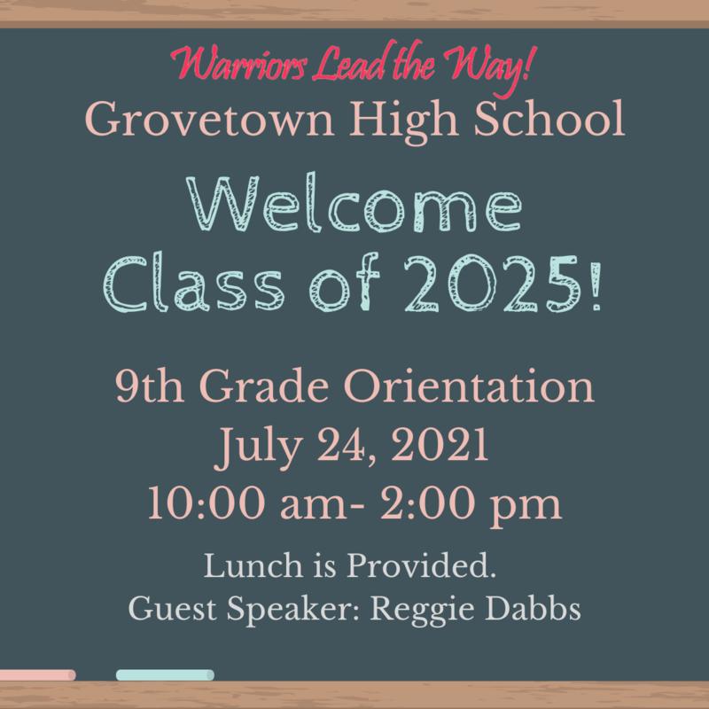 9th Grade Orientation Featured Photo