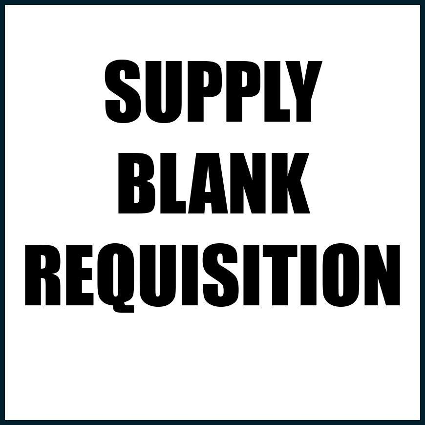 SUPPLY REQUISITION