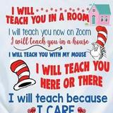 DR. SEUSS REMOTE LEARNING POSTER