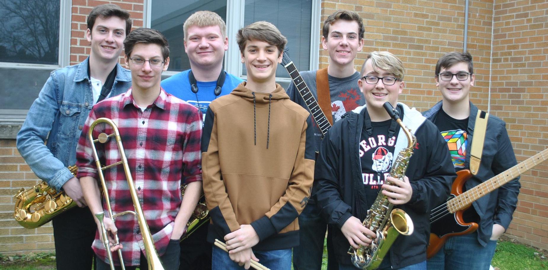 Knoch representatives to PMEA Jazz Band Festival