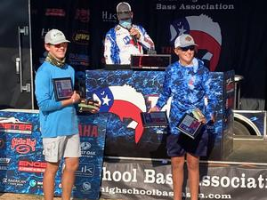 Braxton Alexander and Cade Dornburg SVHS bass fishing