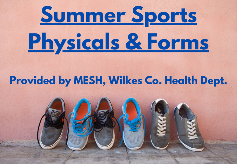 MESH Offering Summer Sports Physicals Thumbnail Image